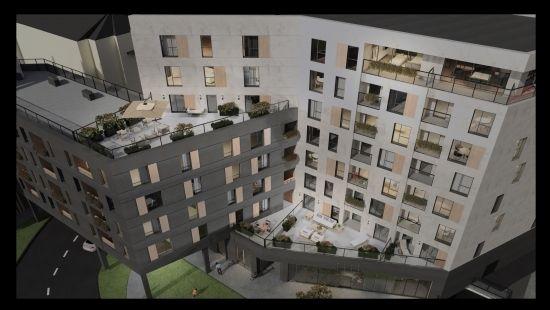 Kolejna inwestycja w rejonie hali Podpromie. Powstanie 113 lokali mieszkalnych [WIZUALIZACJE] - Aktualności Rzeszów - zdj. 3